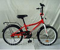 Детский двухколесный велосипед PROF1 Top Grade L20105 20 дюймов красный для детей от 5 лет