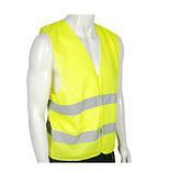 Світловідбиваючий Жилет безпеки 100 гр/м2 (Зелений / Оранжевий), фото 3