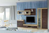 Nicca Комплект мебели (3000х450) (комод, тумба под телевизор, шкаф, полка 70, полка 120)