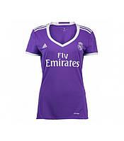 Женская футболка Реал Мадрид (гостевая) сезона 2016-2017, фото 1