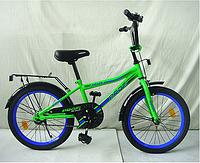 Детский велосипед Profi Top Grade L20102 20 дюймов зеленый для мальчиков
