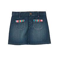 Детская джинсовая юбка  4 года, 5 лет, фото 1