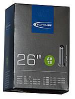 Велосипедная камера Schwalbe AV12 26x1.25-1.75