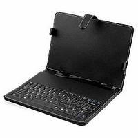 """Чехол-книжка для планшета с клавиатурой 8"""" черный"""