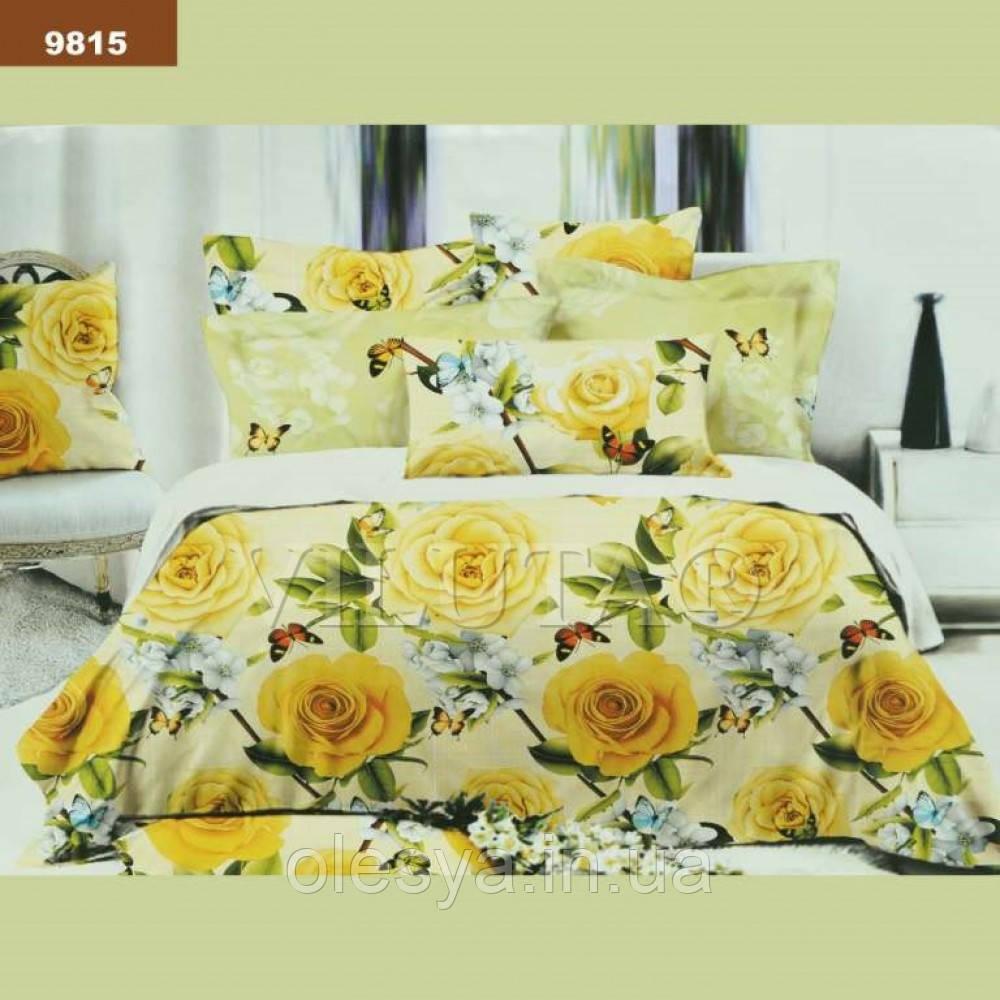 Комплект постельного белья Вилюта Ранфорс Евро 9815
