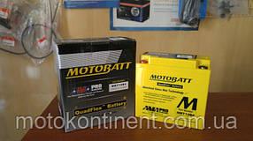 Мото аккумуляторы  MOTOBATT  4 - 32Ah гелевые герметичные  по технологии AGM (Absorbent Glass Mat)