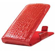 Чехол-флип на телефон Samsung S7582, S7390, i8580, i9060 красный