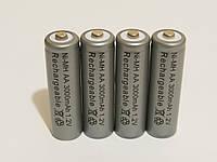 Аккумулятор батарейка АА 3000mah 1.2v 4шт.