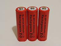 Аккумулятор батарейка АА 3000mah 1.2v 3шт.