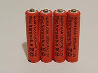 Аккумулятор батарейка ААA 1800mah 1.2v 4шт.