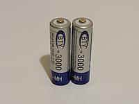 Аккумулятор батарейка BTY АА 3000mah 1.2v 2шт.