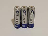 Аккумулятор батарейка BTY АА 3000mah 1.2v 3шт.