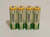 Аккумулятор батарейка BTY АА 3000mah 1.2v 4шт.