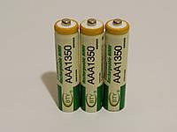 Аккумулятор батарейка BTY ААА 1350mah 1.2v 3шт.