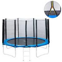 Батут для детей Profi MS 0501 с сеткой диаметр 427 см