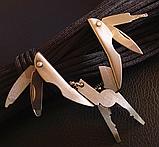 Брелок набор инструментов плоскогубцы отвертка 5в1, фото 6