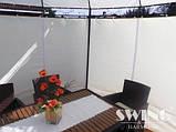 Круглый павильон Swing & harmonie 3.5 м Коричневый  с LED освещением, фото 5