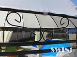 Круглый павильон Swing & harmonie 3.5 м Коричневый  с LED освещением, фото 6