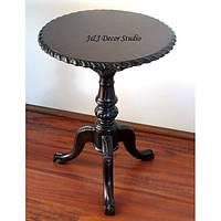 Журнальный столик круглой формы