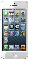 "Китайский cмартфон iPhone 5, Android, 4"", 2 SIM, 2 Мп, мультитач, W-CDMA (3G). Белый"