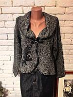 Пиджак женский шерстяной серый PARDON