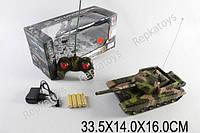 Танк аккумуляторный на р/у, в коробке, масштаб 1:24 (ОПТОМ) 168-24