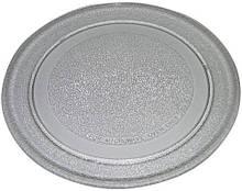 Стеклянная тарелка для микроволновой печи LG диаметр 245 мм