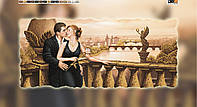 "Схема для вышивки бисером на подрамнике (холст) ""Романтика любви"""