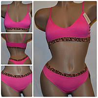 Комплект  Gree Nice (7403)  топ розовый + стринги (Витрина)
