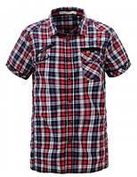 Рубашка в клеточку для подростка р. 134-164 (арт. 1537 кр.)