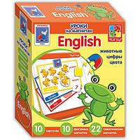 Английский язык на магнитах  Животные» VT1502-10(рус)   VT1502-16(укр)
