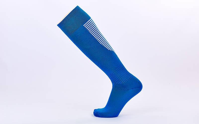 Футбольні гетри дорослі синьо-білі CDP512-B