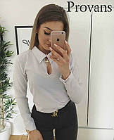 Женская блузка с воротничком Норма Цвета 41 ОН, фото 1