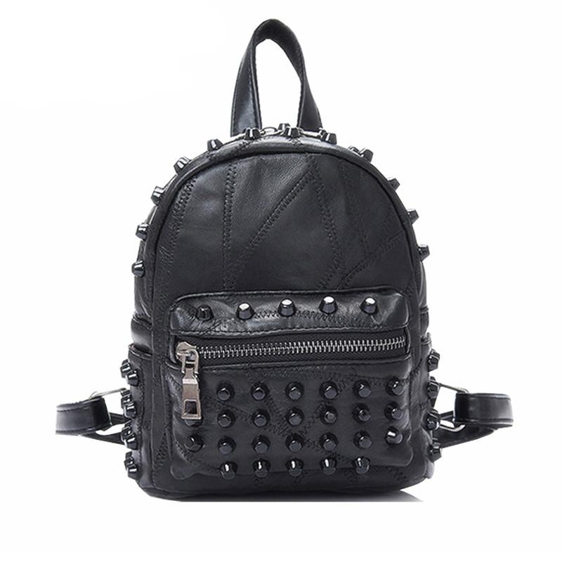 Черный рюкзак с шипами фото школьный рюкзак hummingbird flower power t4