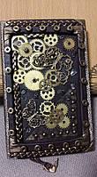 """Блокнот handmade """"Mechanic  soul of Nature"""" с чехлом, фото 1"""