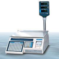Весы с печатью этикеток CAS - LP 1.5 (со стойкой) Ethernet бу