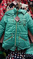 Детская весенняя куртка на подкладке