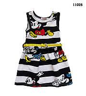 Летнее платье Minnie Mouse для девочки. 100, 120 см