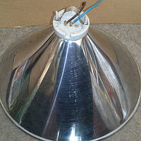 Абажур для лампы обогрева с патроном (нержавейка)