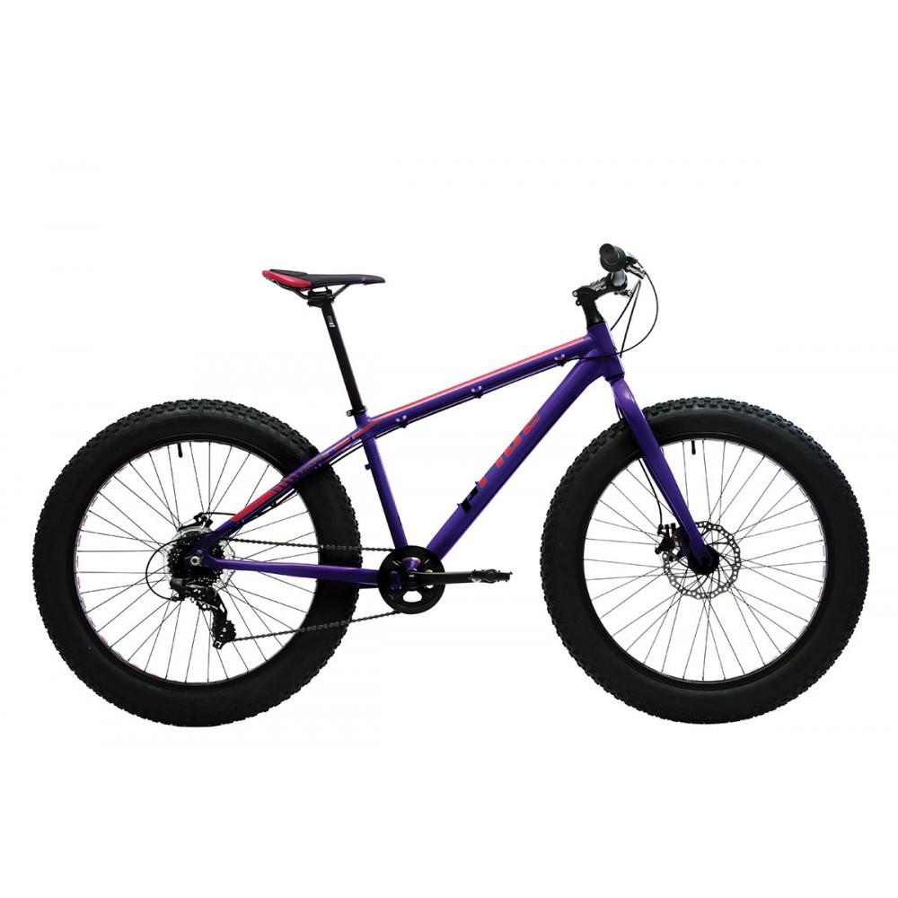 Велосипед 26'' Pride Trophy 2.0 рама - XL фиолетовый/оранжевый лак 2017