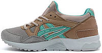 Женские кроссовки The Offspring x Asics Gel Lyte V Brown/Mint/Grey