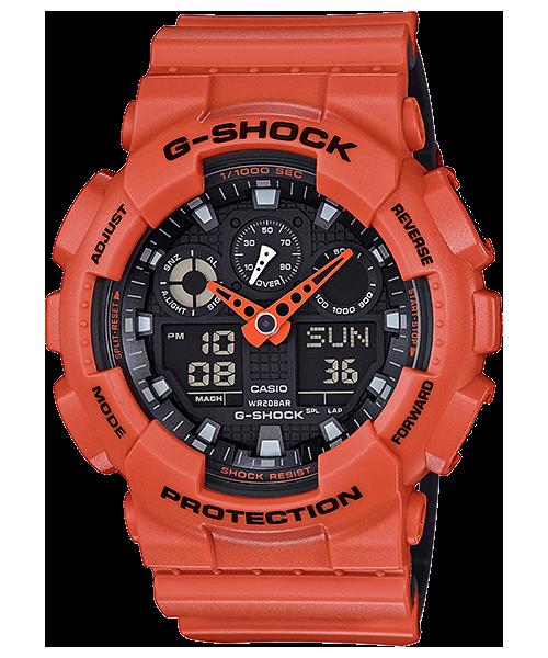 Часы мужские Casio G-Shock GA-100L-4AER