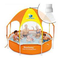 Каркасный бассейн с навесом Bestway 56432