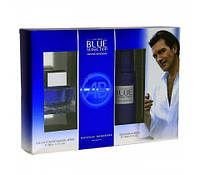 ANTONIO BANDERAS BLUE SEDUCTION MAN set (edt 100 ml spr + deo 150 ml spr)