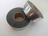 Лента горячего тиснения (серебро,золото) намоткой 125м длина. Ширина может быть любой(от этого зависит цена)