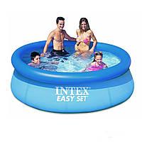 Надувной бассейн Intex 28110 (56970). Семейный Easy Set 244 х 76 см