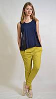 Стильные легкие женские брюки галифе 5246 MEES Турция