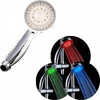 Светодиодная насадка на душ Led pro