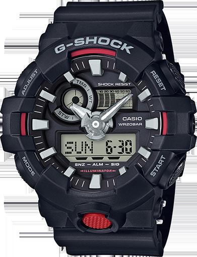 Годинники чоловічі Casio G-Shock GA-700-1AER