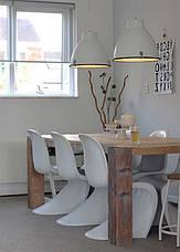 Стул Пантон Panton Chair белый от датского дизайнера Verner Panton 1960 г, фото 3